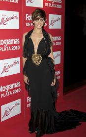 Macarena Gómez en los Premios Fotogramas de Plata 2010