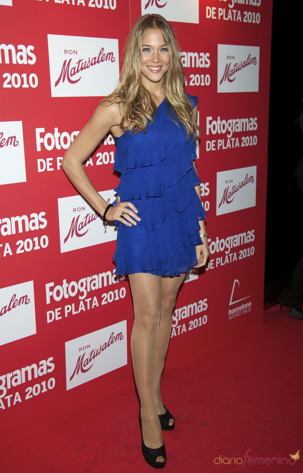 Patricia Montero en los Premios Fotogramas de Plata 2010
