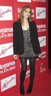 Michelle Jenner en los Premios Fotogramas de Plata 2010