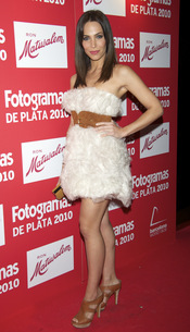 Nerea Garmendia en los Premios Fotogramas de Plata 2010