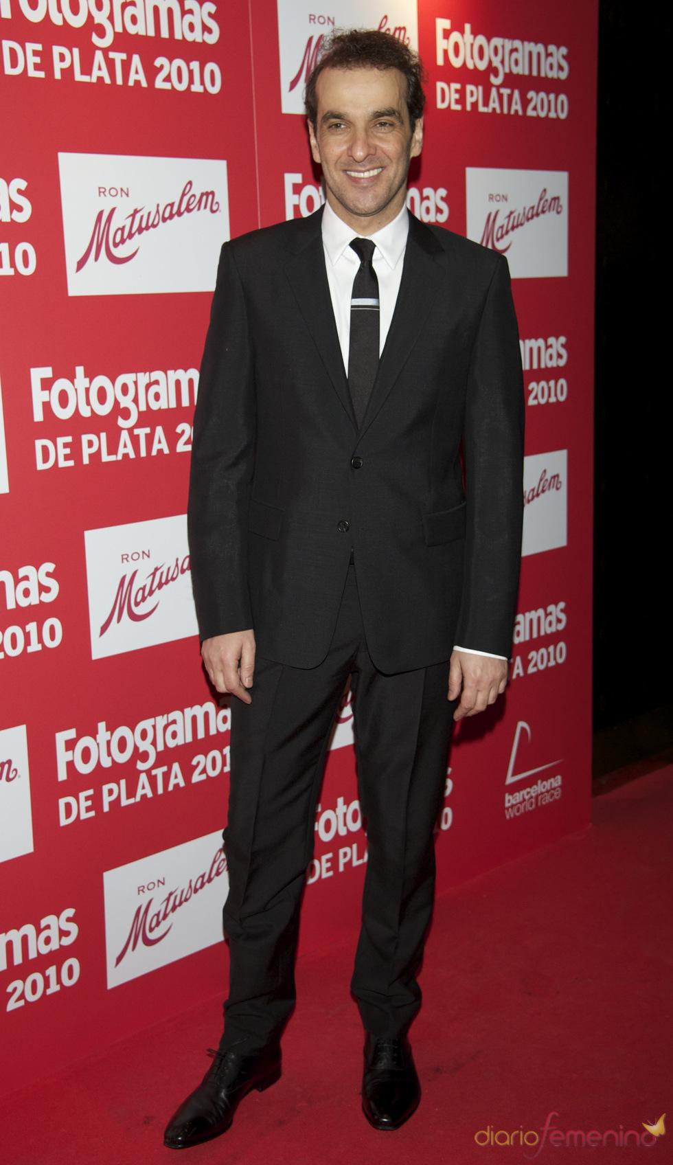 Luis Merlo en los Premios Fotogramas de Plata 2010