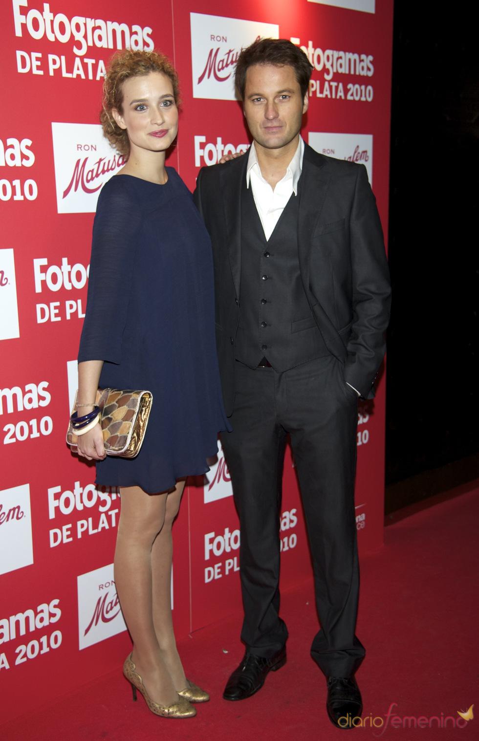 Fernando Andina en los Premios Fotogramas de Plata 2010