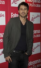 Hugo Silva en los Premios Fotogramas de Plata 2010
