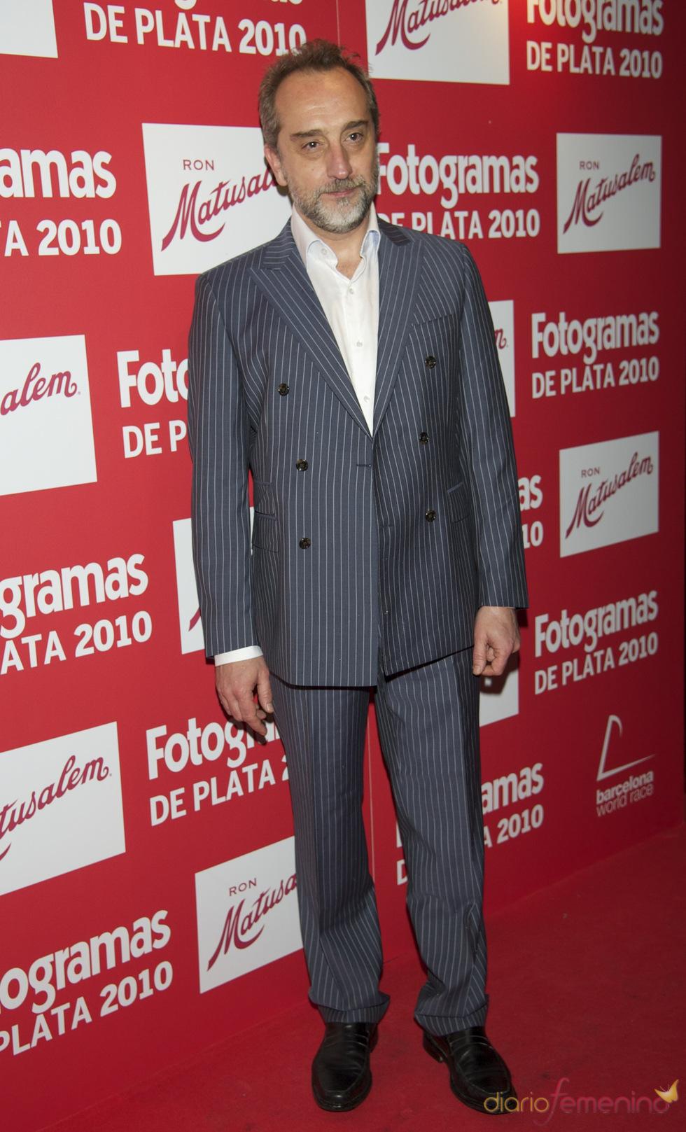 Gonzalo de Castro en los Premios Fotogramas de Plata 2010