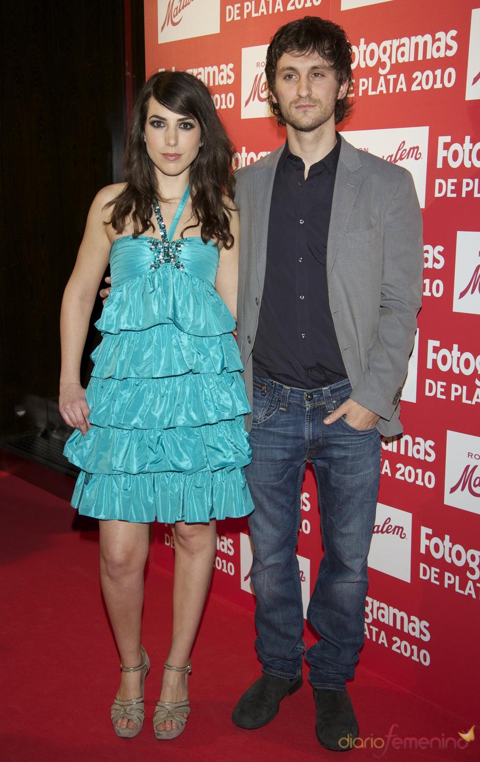 Alicia Rubio y Raúl Arévalo en los Premios Fotogramas de Plata 2010