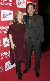 Agusti Villaronga y Sonia Pastor en los Premios Fotogramas de Plata 2010