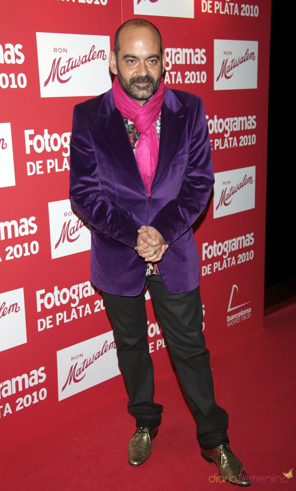 José Corbacho en los Premios Fotogramas de Plata 2010