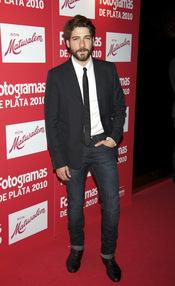 Félix Gómez en los Premios Fotogramas de Plata 2010