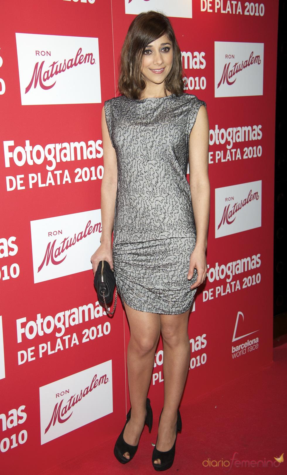 Mariam Hernández en los Premios Fotogramas de Plata 2010