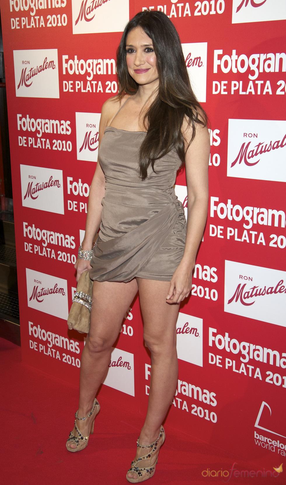 María Botto en los Premios Fotogramas de Plata 2010