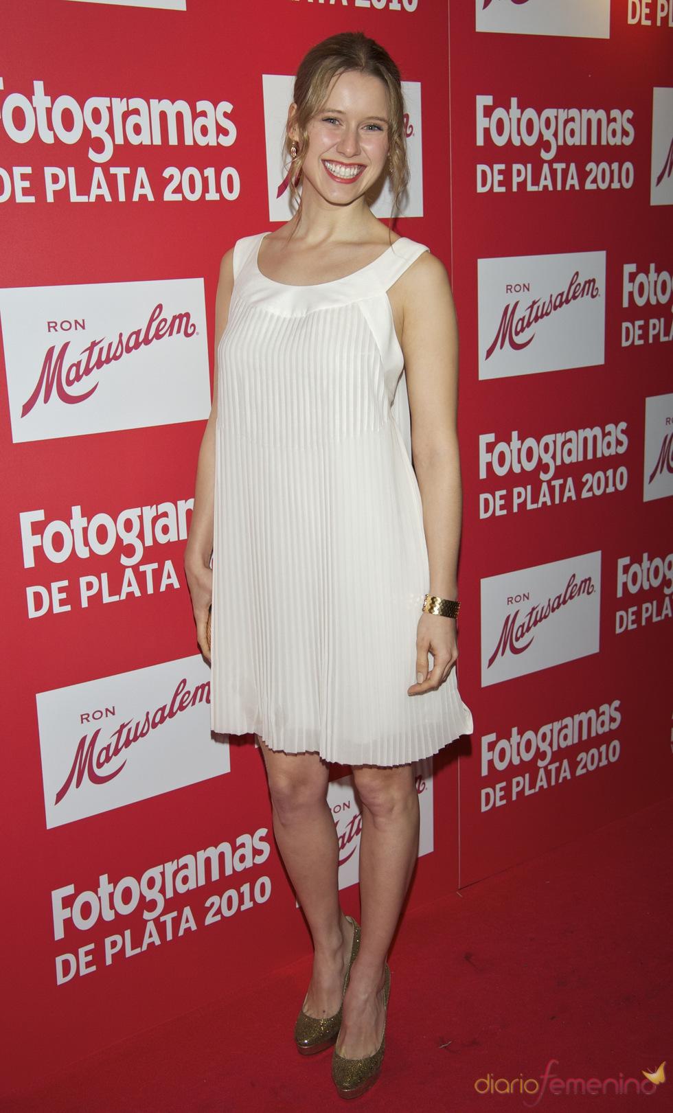 Manuela Vellés en los Premios Fotogramas de Plata 2010