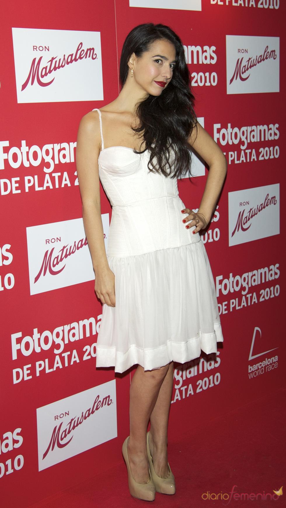 Cristina Brondo en los Premios Fotogramas de Plata 2010