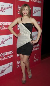 Aura Garrido en los Premios Fotogramas de Plata 2010