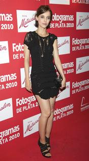 Leticia Dolera en los Premios Fotogramas de Plata 2010