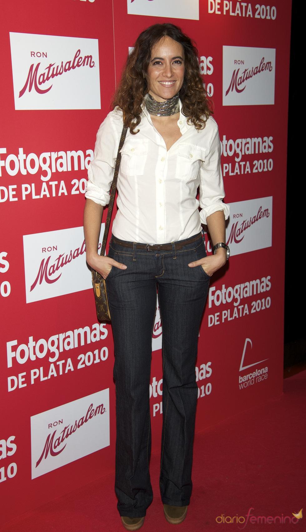 Ana Turpin en los Premios Fotogramas de Plata 2010