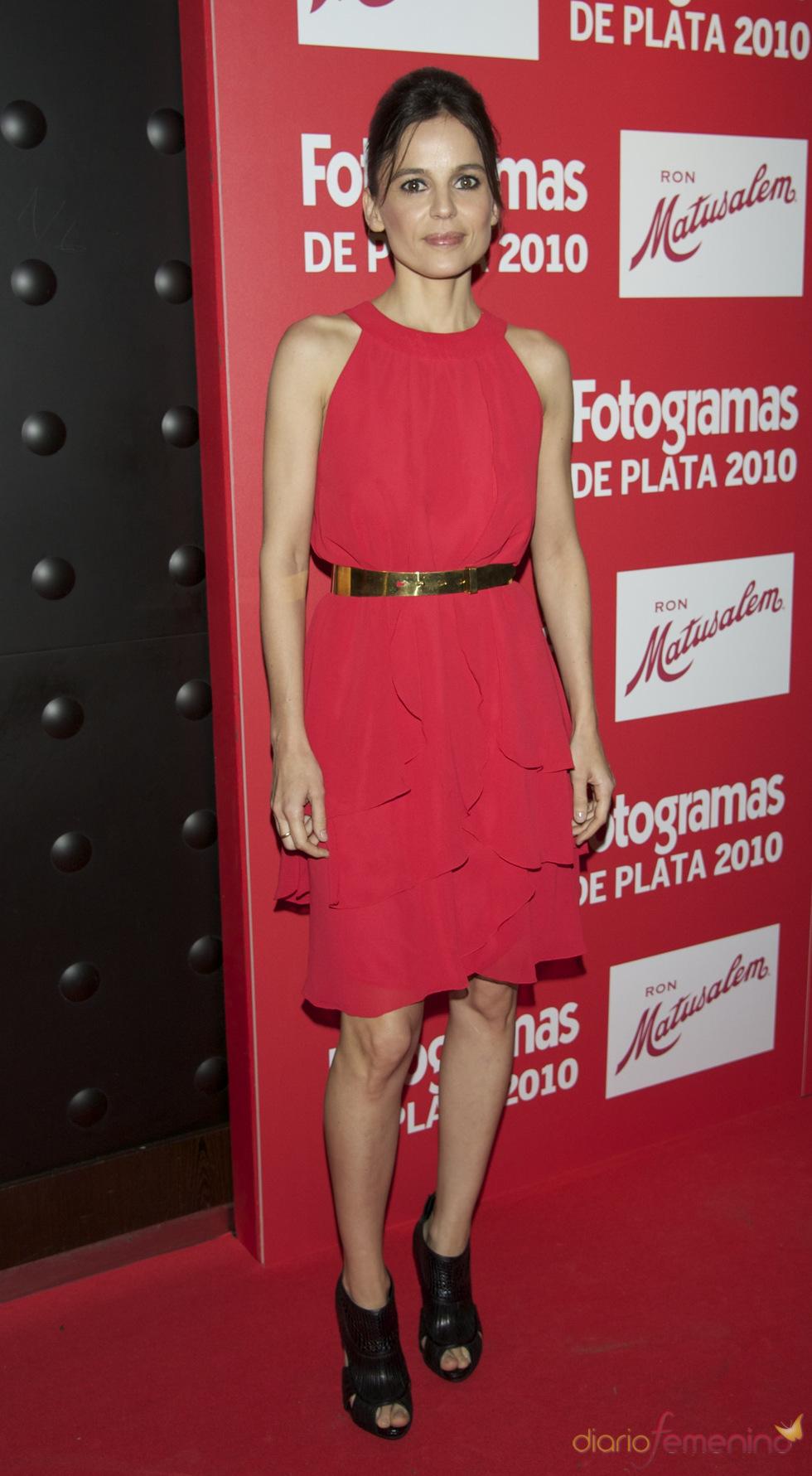 Elena Anaya en los Premios Fotogramas de Plata 2010