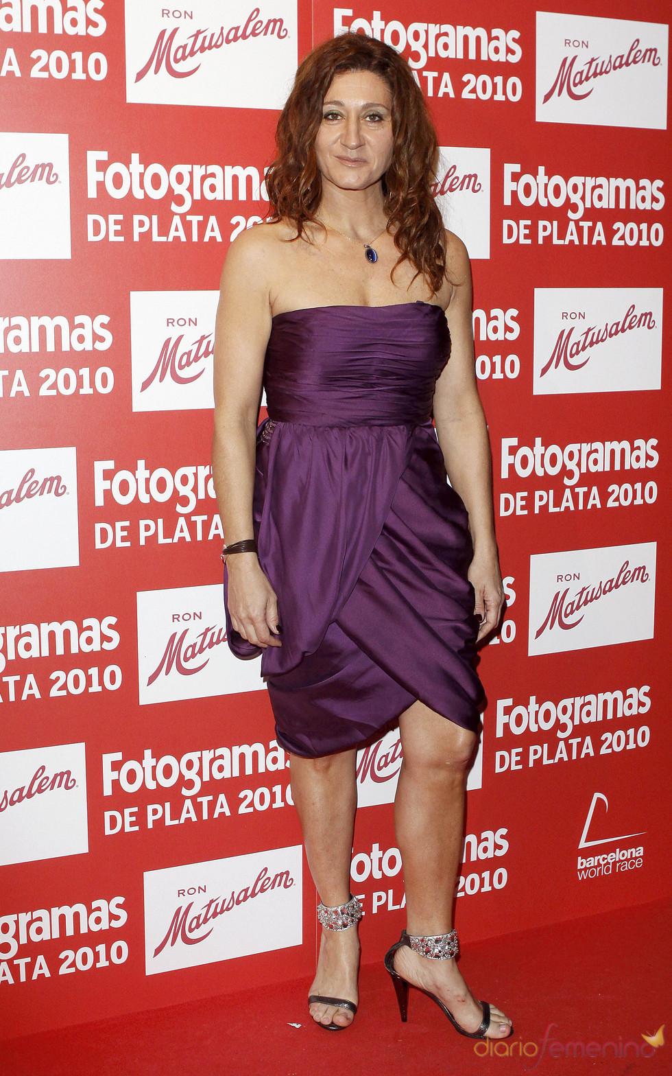 Chiqui Fernández en los Premios Fotogramas de Plata 2010