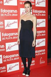 Cecilia Freire en los Premios Fotogramas de Plata 2010