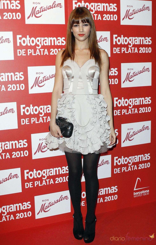Úrsula Corbero en los Premios Fotogramas de Plata 2010