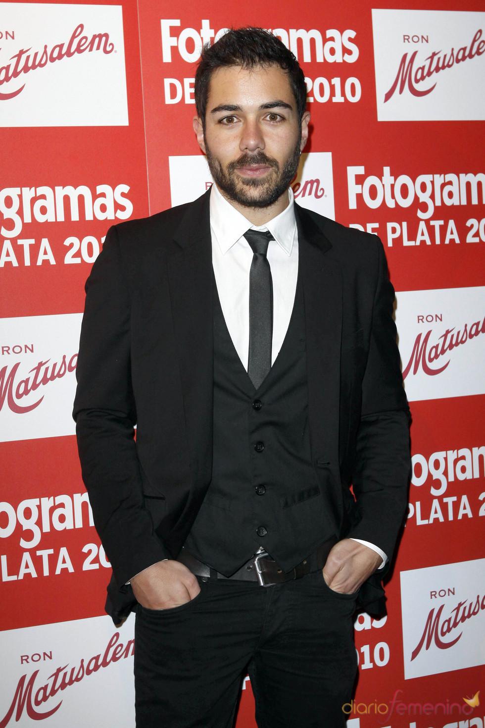 David Seijo en los Premios Fotogramas de Plata 2010