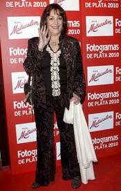 Carmen Maura en los Premios Fotogramas de Plata 2010