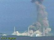 Explosión en un reactor de la central nuclear de Fukushima tras el terremoto de Japón