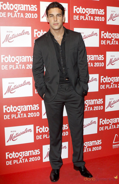 Mario Casas en los Premios Fotogramas de Plata 2010