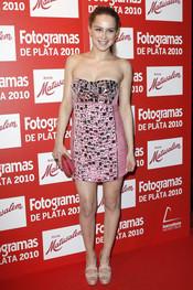 Carla Nieto en los Premios Fotogramas de Plata 2010