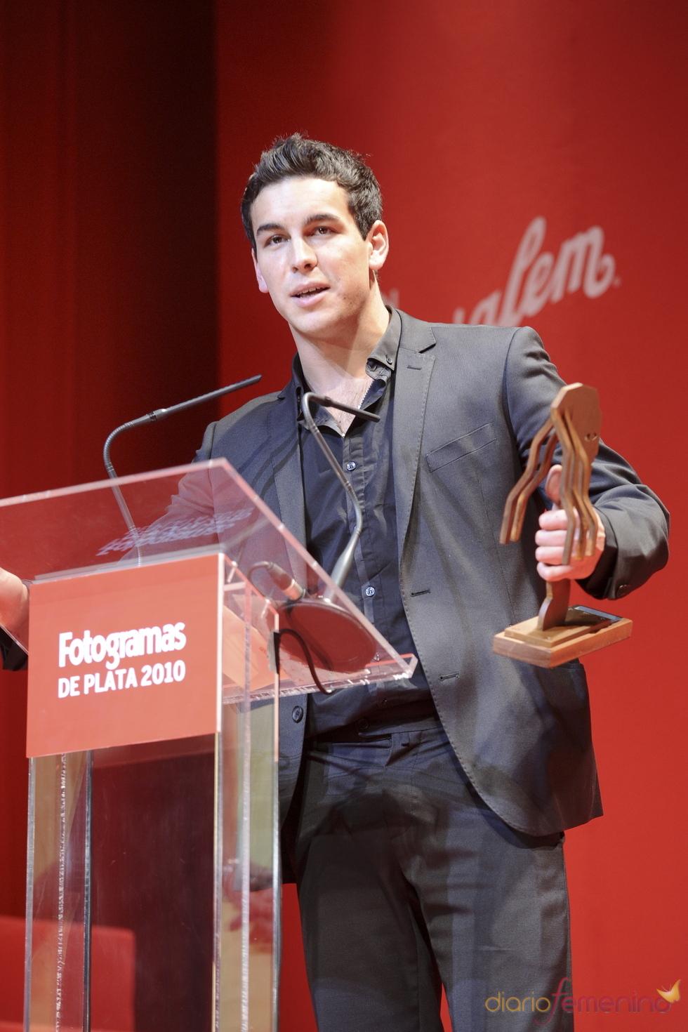 Mario Casas recoge el Fotogramas de Plata 2010