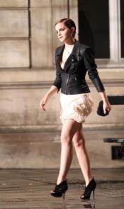 Emma Watson rueda el anuncio de Lancome