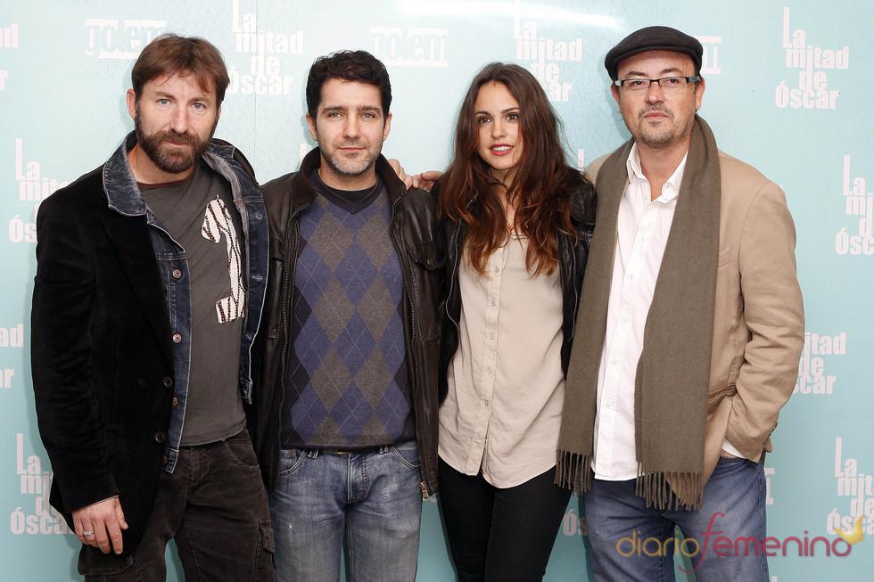 Reparto de actores de 'La mitad de Óscar'