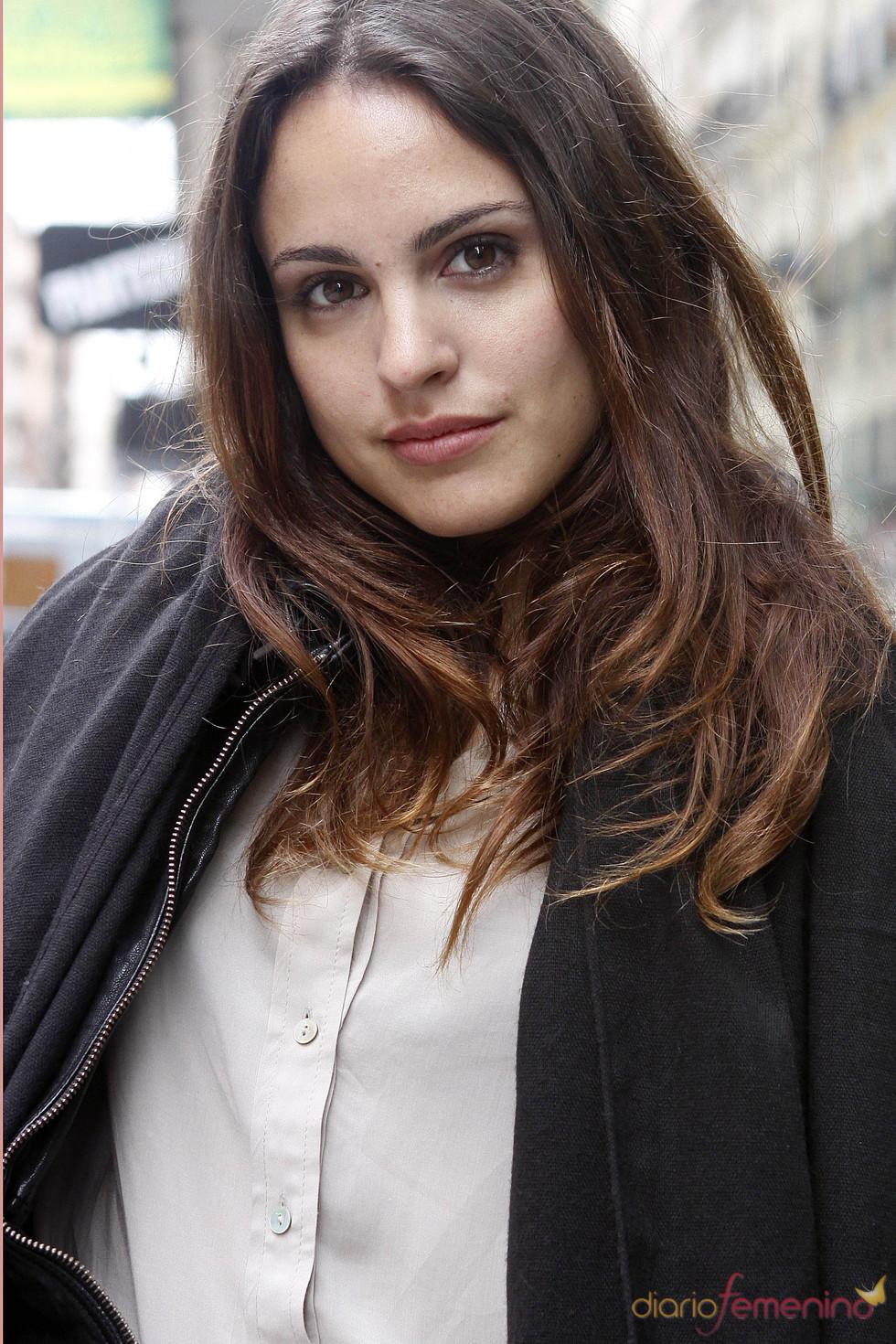 Verónica Echegui en la presentación de 'La mitad de Óscar'