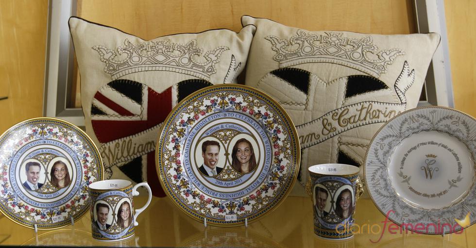 Souvenirs de la boda de Guillermo de Inglaterra y Kate Middleton