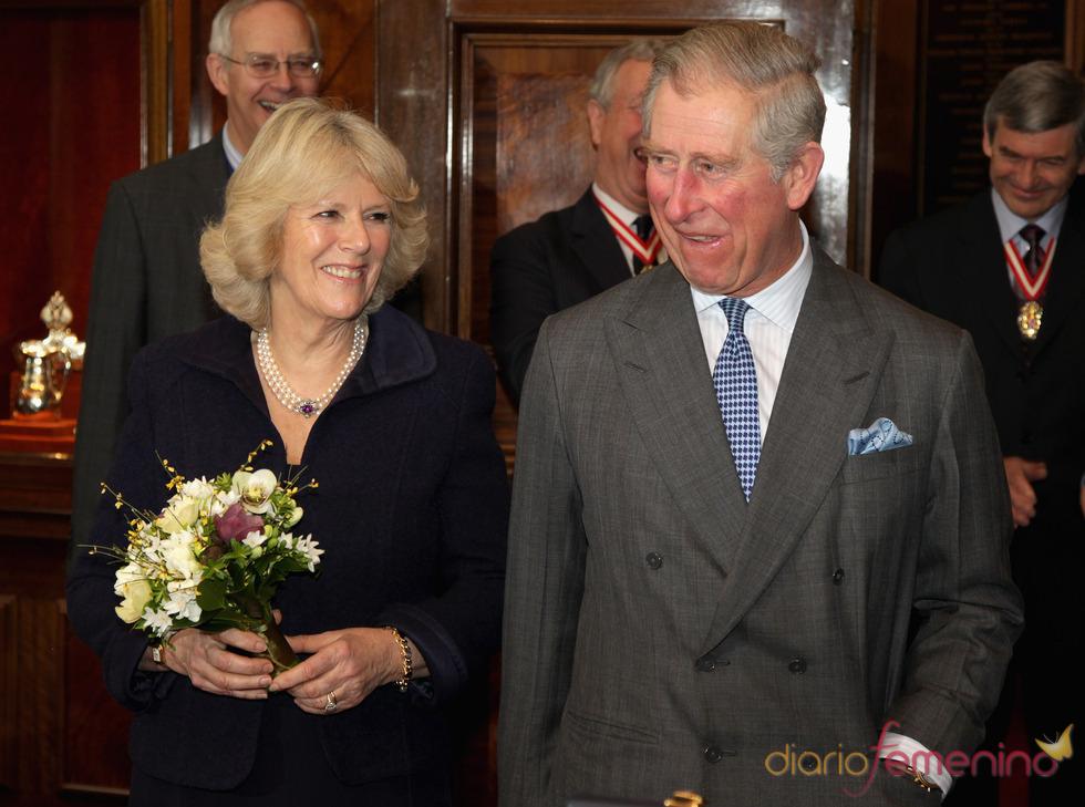El Príncipe Carlos y Camilla visitarán España