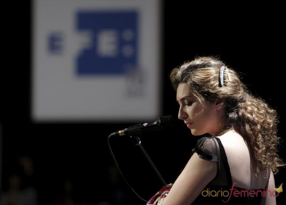 La cantaora Estrella Morente conquista en el escenario de Viena