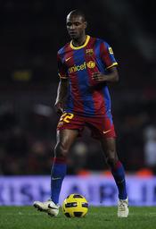 El futbolista del Barça Eric Abidal tiene un tumor en el hígado