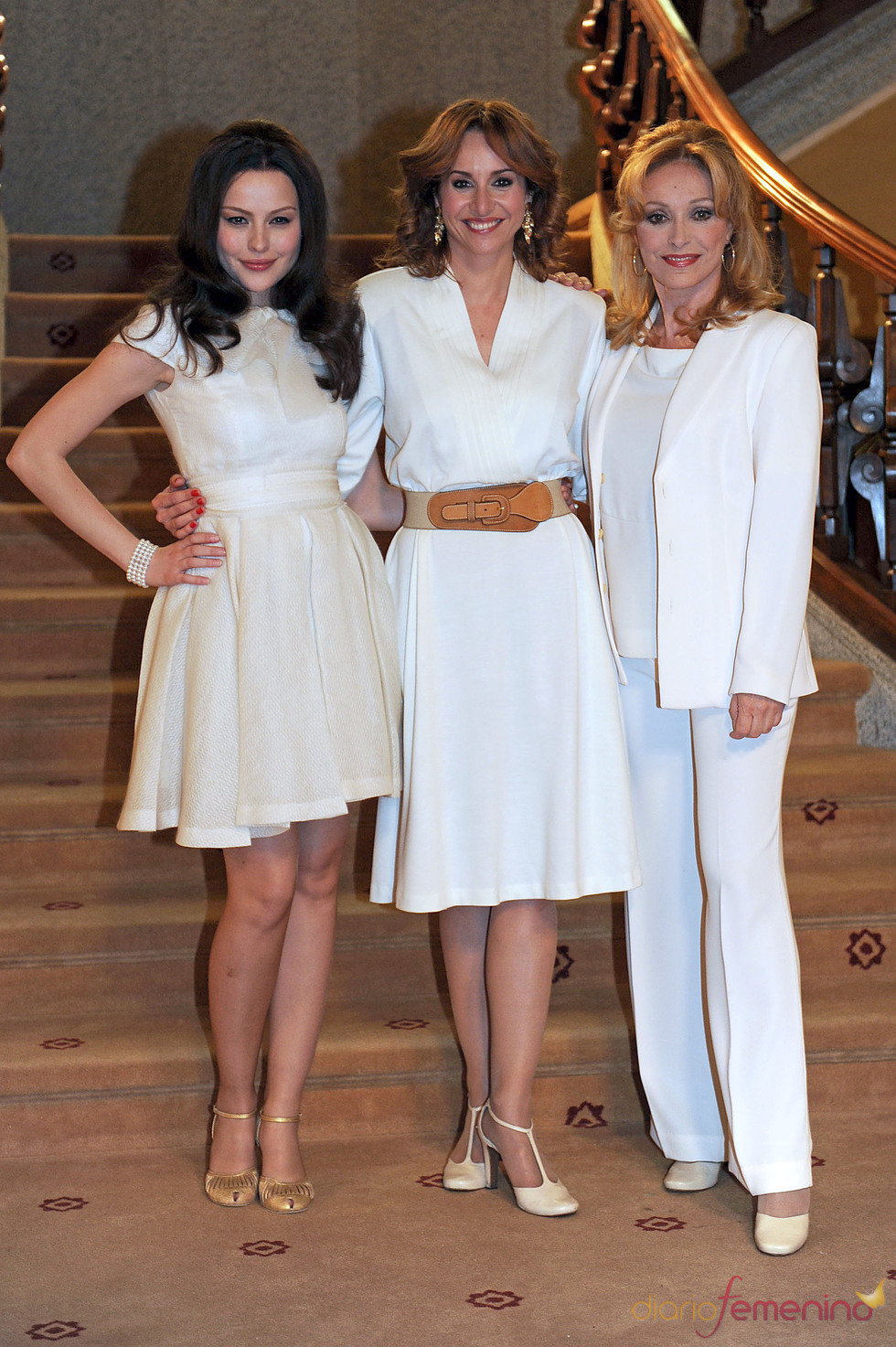 Esmeralda Moya, Mar Regueras y Silvia Tortosa son 'Carmen Cervera. La Baronesa'