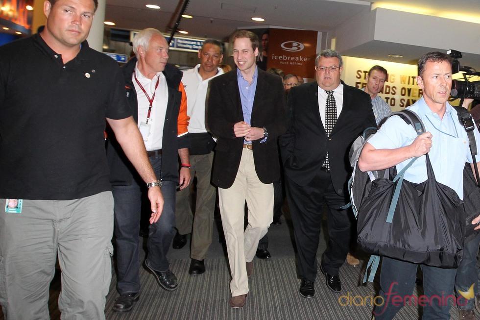 Guillermo de Inglaterra visita Nueva Zelanda
