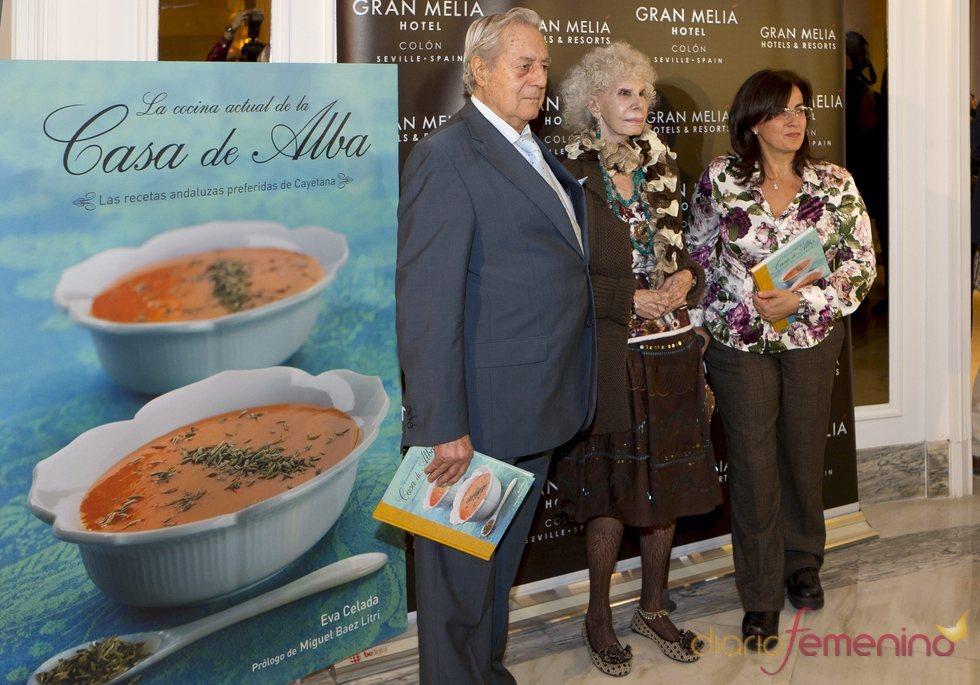 Presentación del libro de cocina de la Casa de Alba
