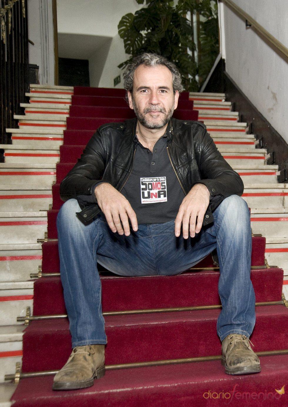 Willy Toledo en la lista de la 'Candidatura por la Unión'