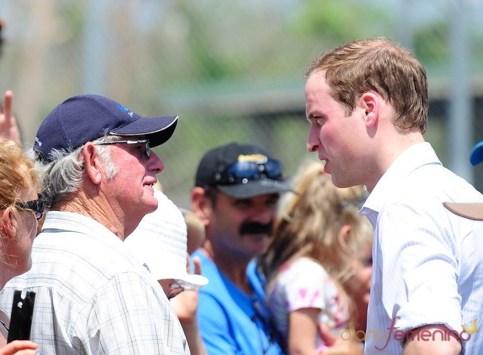 El Príncipe Guillermo preocupado por su pueblo