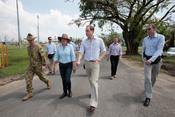 El Príncipe Guillermo, comprometido, viaja a Australia
