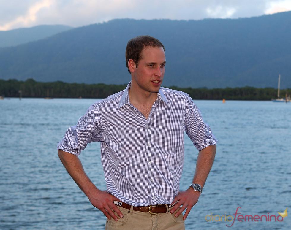 El Príncipe Guillermo comprometido durante su viaje a Australia