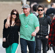Ashley Greene y Jared Followill juntos en el Día de San Patricio