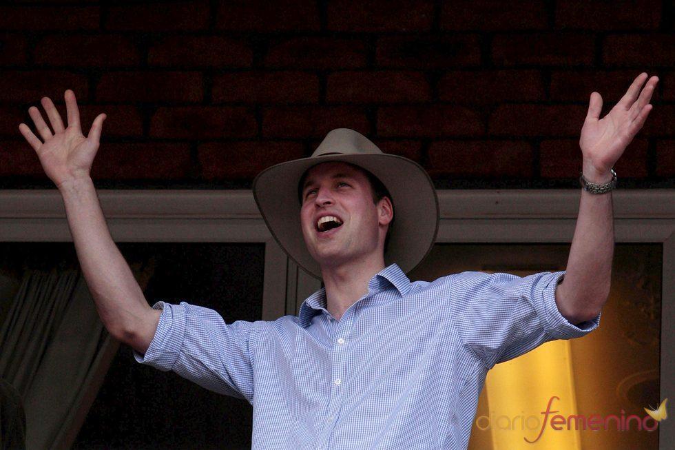 El príncipe Guillermo en su visita a Australia