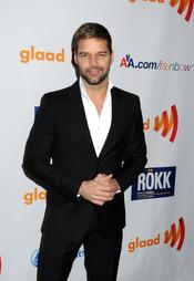 Ricky Martin en los GLAAD 2011