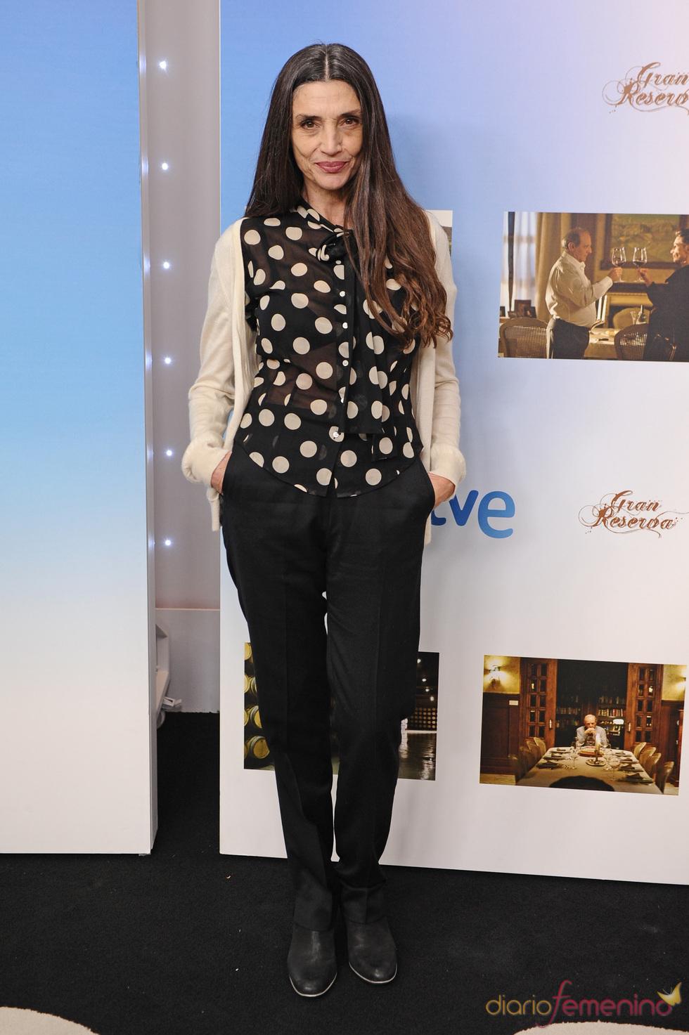 Ángela Molina en la presentación de la segunda temporada de 'Gran Reserva'