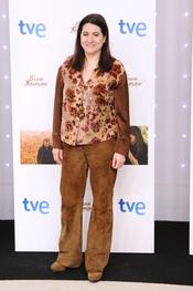 Luisa Martín en el estreno de la segunda temporada de 'Gran Reserva'