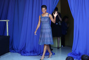 Michelle Obama llega a Santiago de Chile para dar un discurso