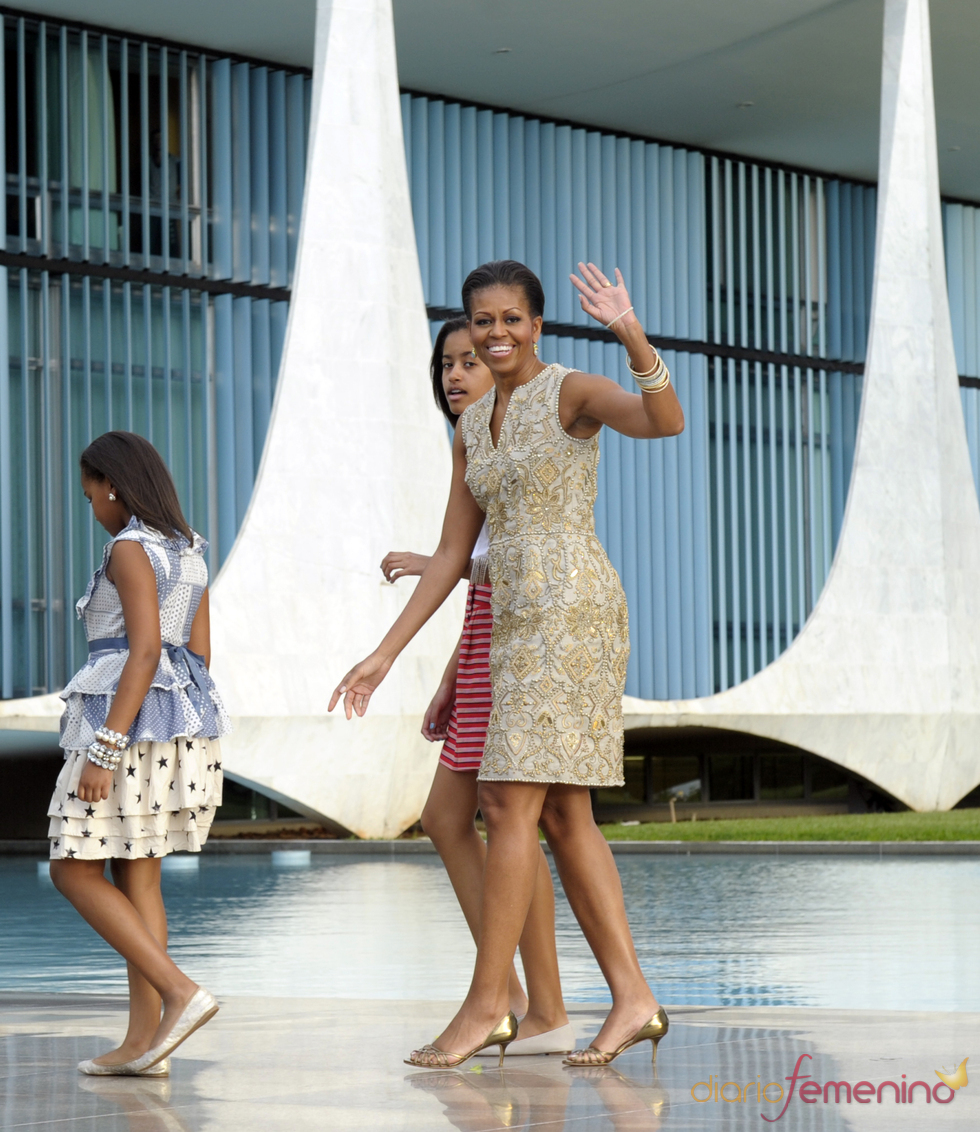 Mario Balotelli aprueba el trasero de Michelle Obama